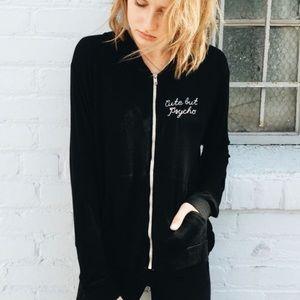 Brandy Melville cute but psycho kassidy hoodie
